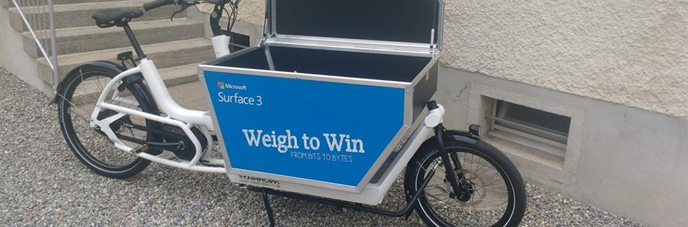 Vélo cargo électrique Citibike