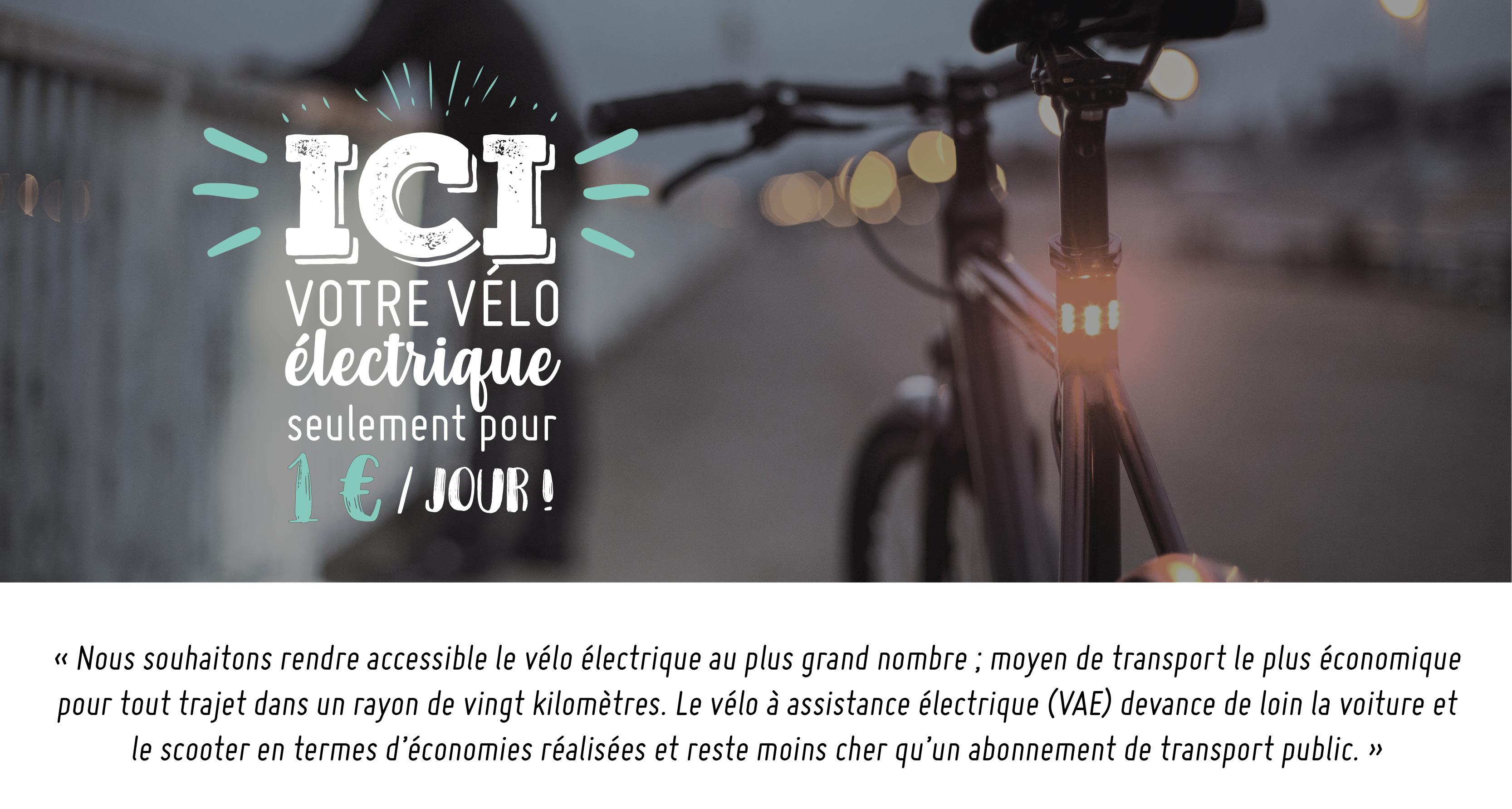 Vélo à 1€ par jour