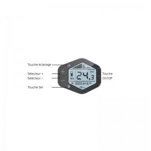 ECRAN LCD 6 NIVEAUX O2FEEL - 99€