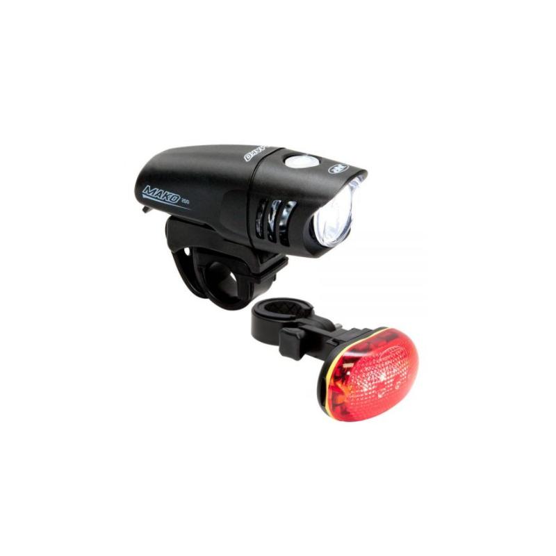 ÉCLAIRAGE VELO MAKO 200 / TL 5.0 SL COMBO Nite Rider - 29,90€