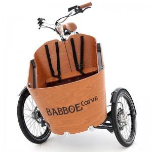 TRIPORTEUR ELECTRIQUE : Modèle BABBOE CARVE E - 3599€
