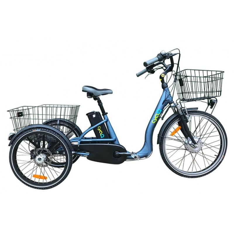TRICYCLE ELECTRIQUE: COMFORT 24+ CYCLO2 - 2390€