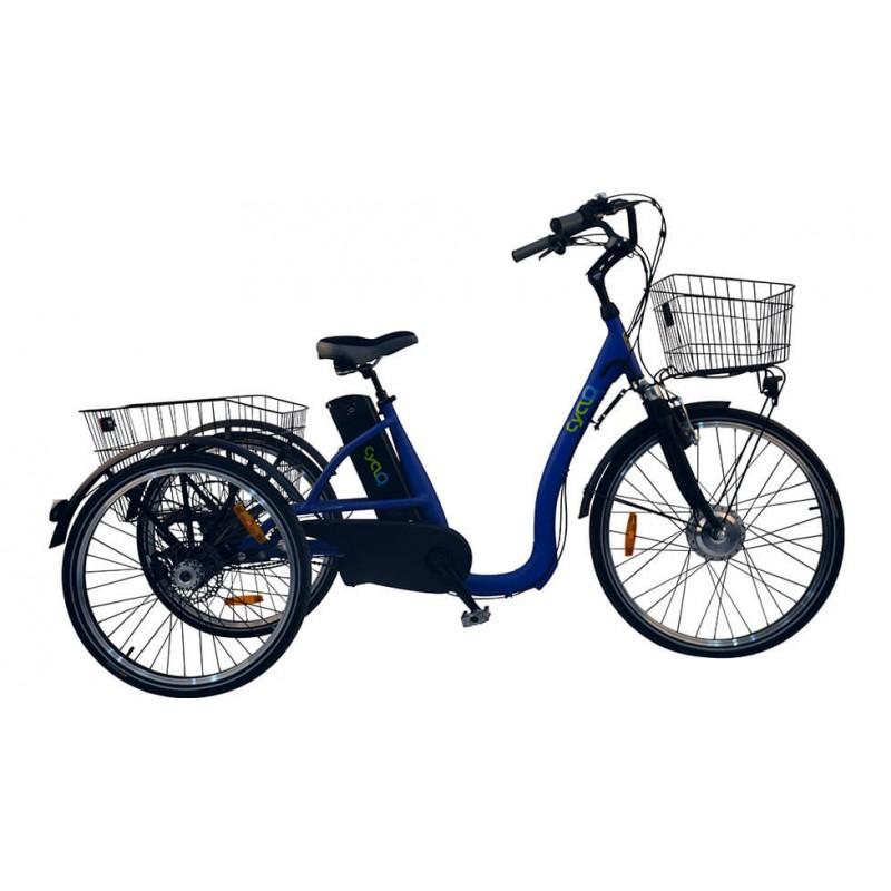 TRICYCLE ELECTRIQUE: COMFORT 26+ CYCLO2 -  2490 €