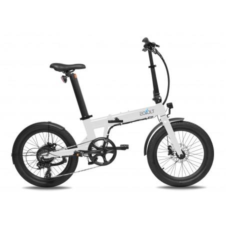 EOVOLT CONFORT blanc - vélo électrique pliant