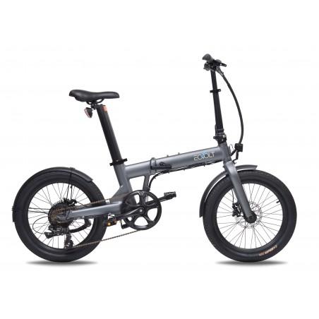 EOVOLT CONFORT gris - vélo électrique pliant