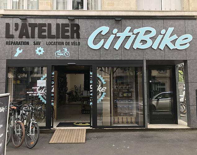 L'atelier Citibike Caen